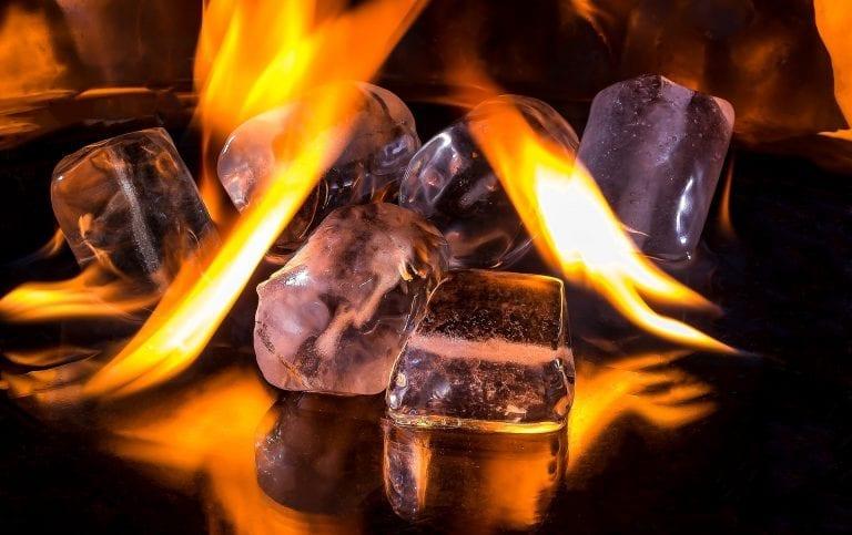 glace et feu