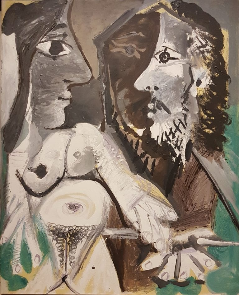 Picasso_le peintre et son modele_Montreal 2018